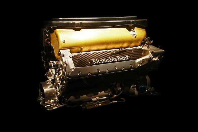 motor, mercedes benz