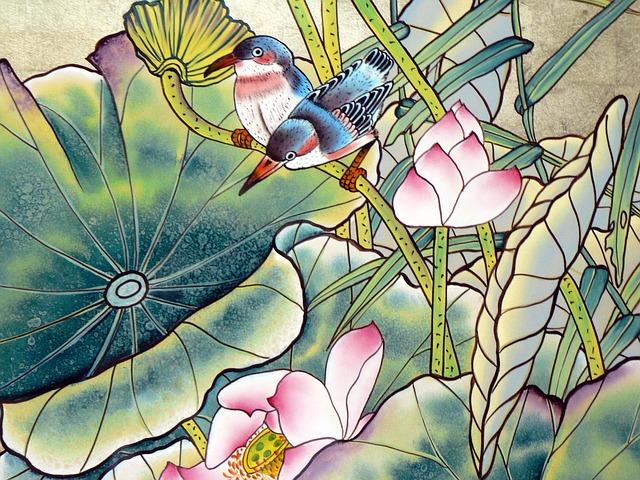 asijské malby