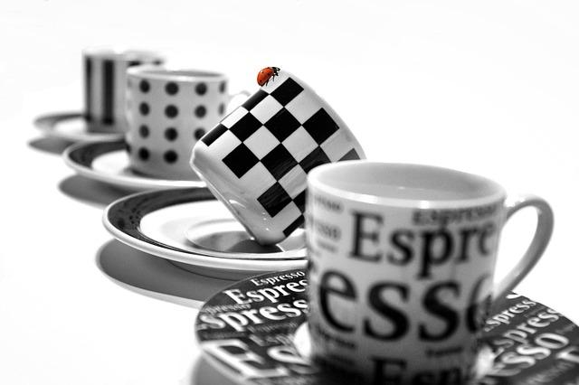 šálky na kávu