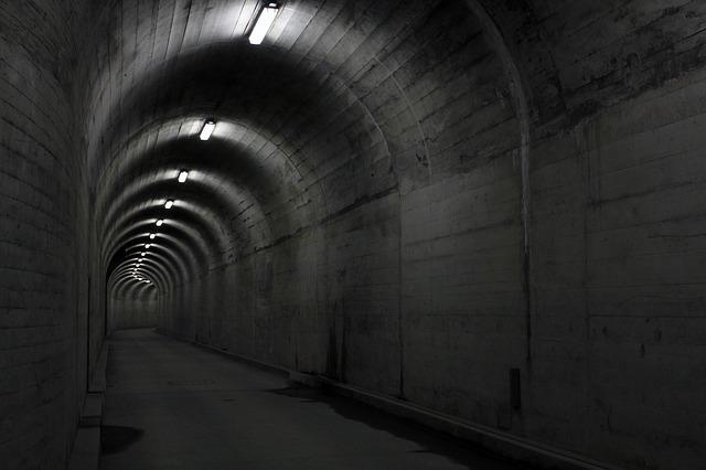 tunel v bunkru